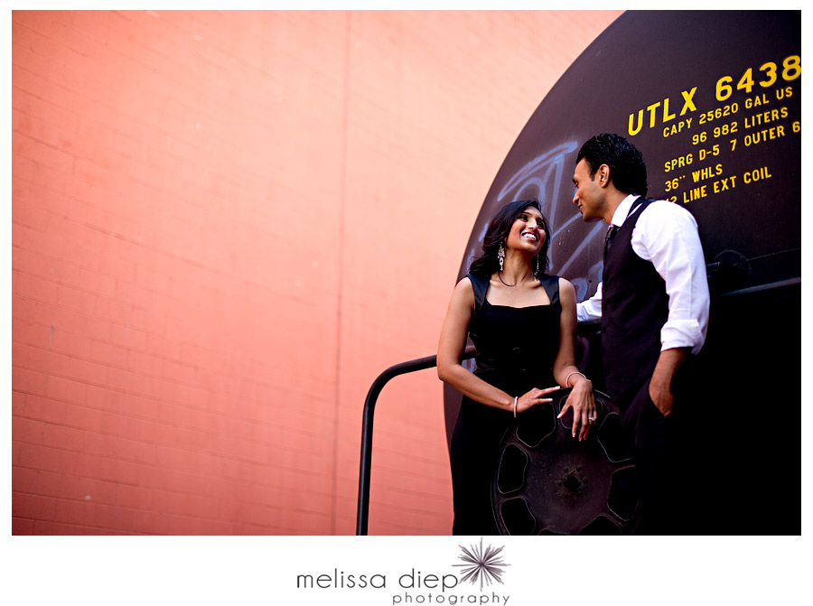 chicago urban engagement session train