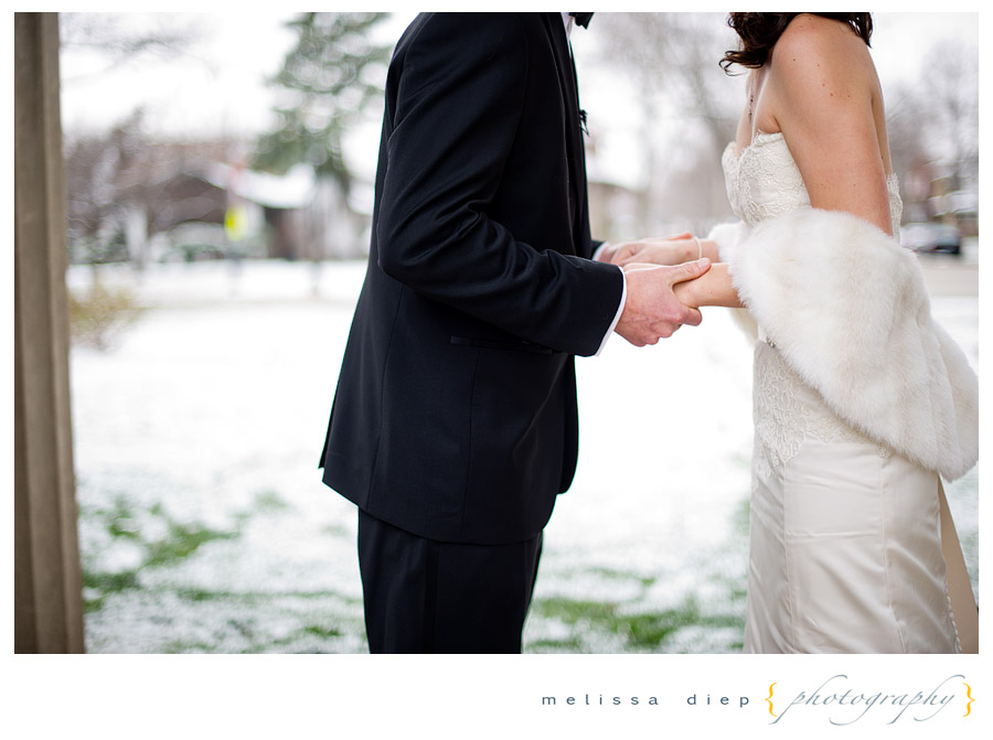 chicago winter wedding
