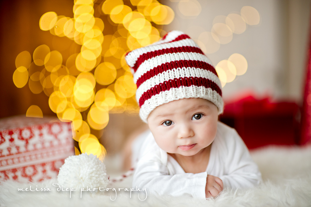 Unique Baby Holiday Card-Easy Photography Tips