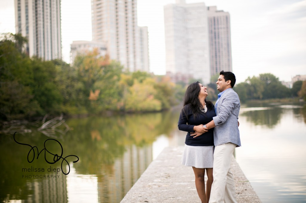 Megha And Mannar 39 S Lincoln Park Engagement Session