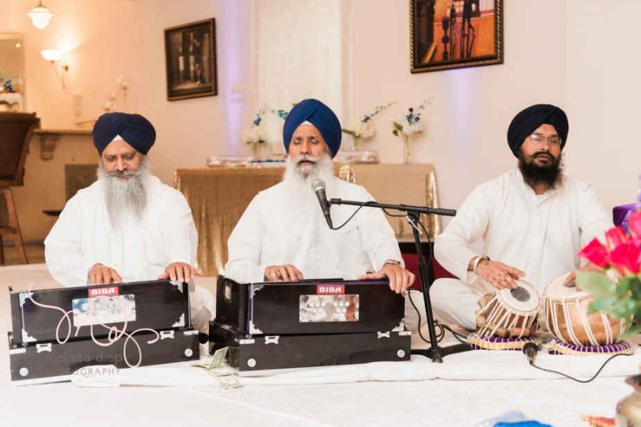 hindu and sikh engagement party