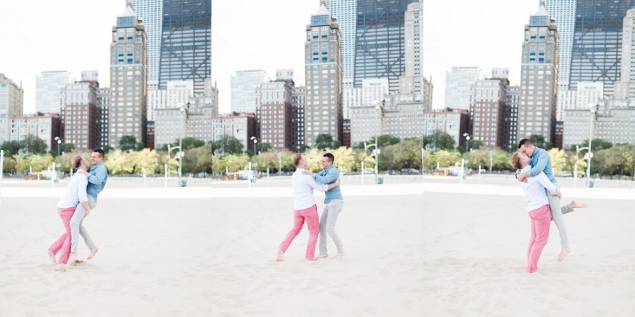 chicago same sex wedding photographer