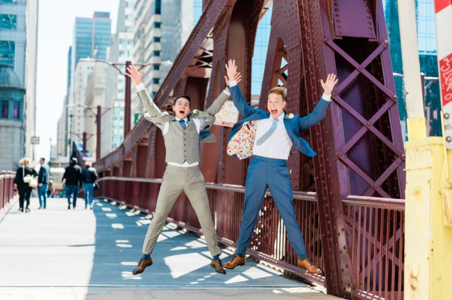 same-sex wedding photographer photography chicago
